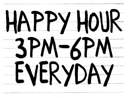 Happy Hour at Slippery Pig